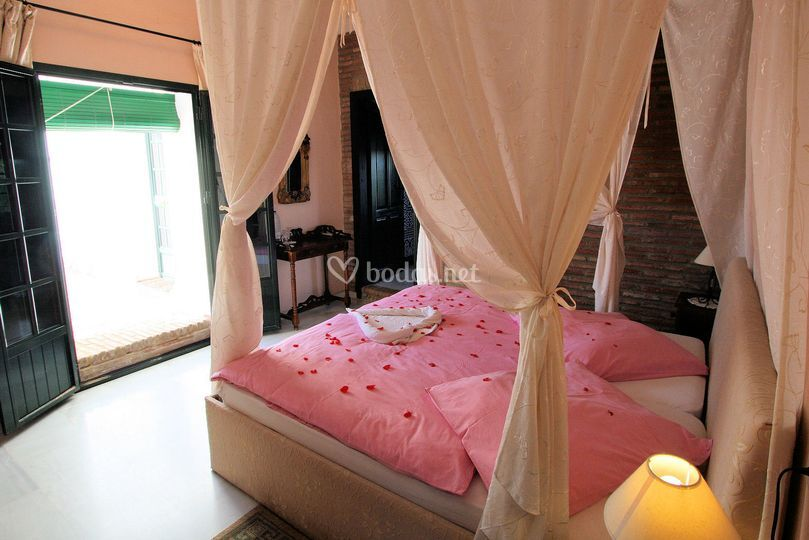 Suite nupcial romántica