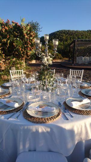 Mesas Redondas de Banquete