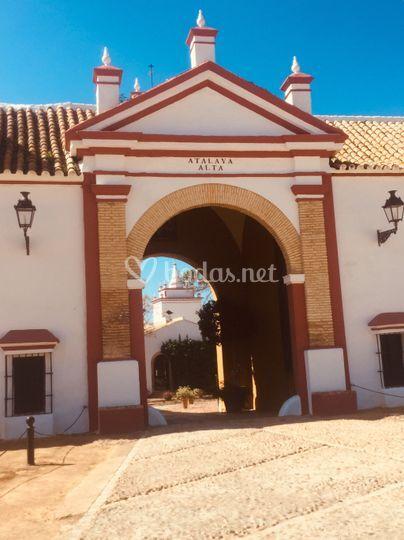 Fachada hacienda