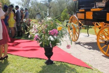 Detalle de la boda civil