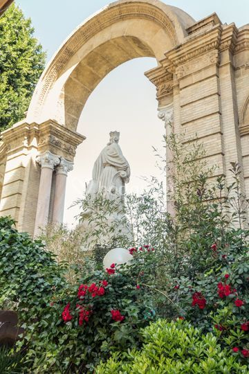 Estatua María Luisa