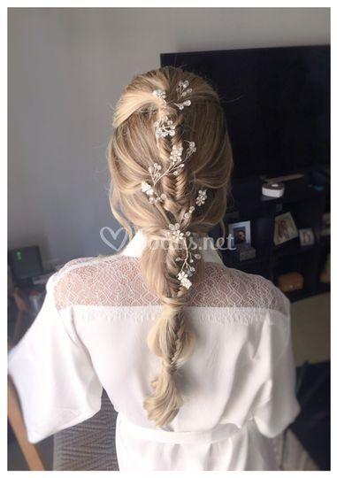 Peinado para Nathalia