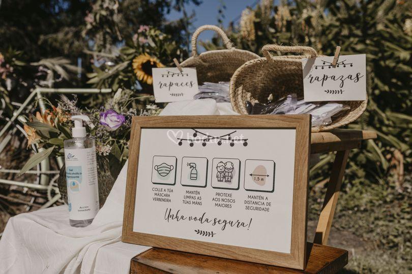 Detalles de boda 2020