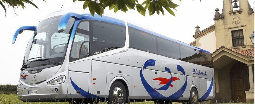 Autobús para invitados