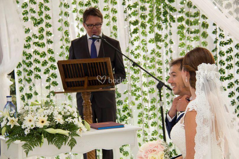 Ceremonia Civil de Raúl & Mari