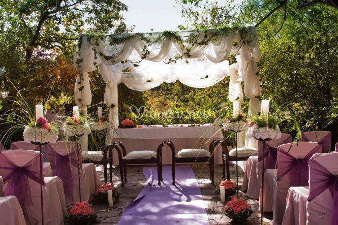 Altar para bodas
