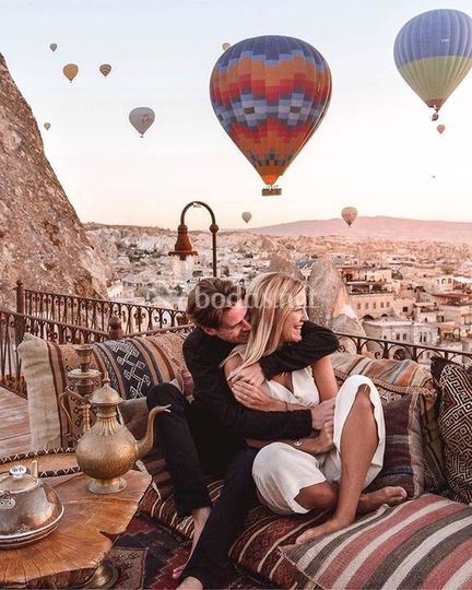 Amor en Capadoccia