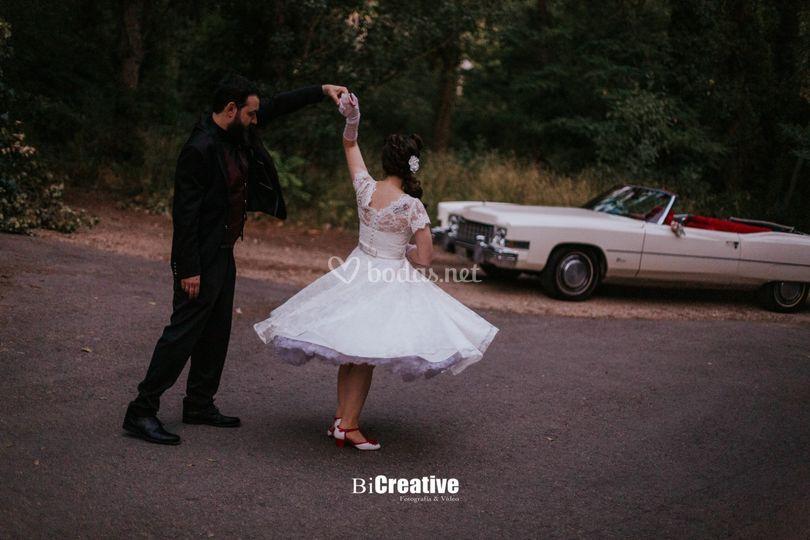 Vestido de novia de los años 50
