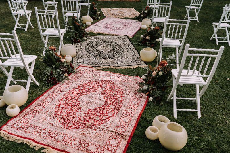 Detalle de ceremonia