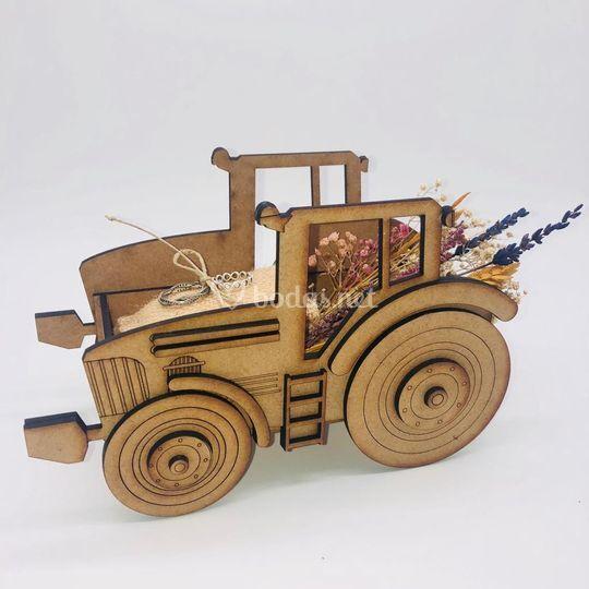 Tractor porta alianzas