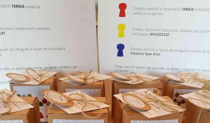 Packaging pack 4 velas
