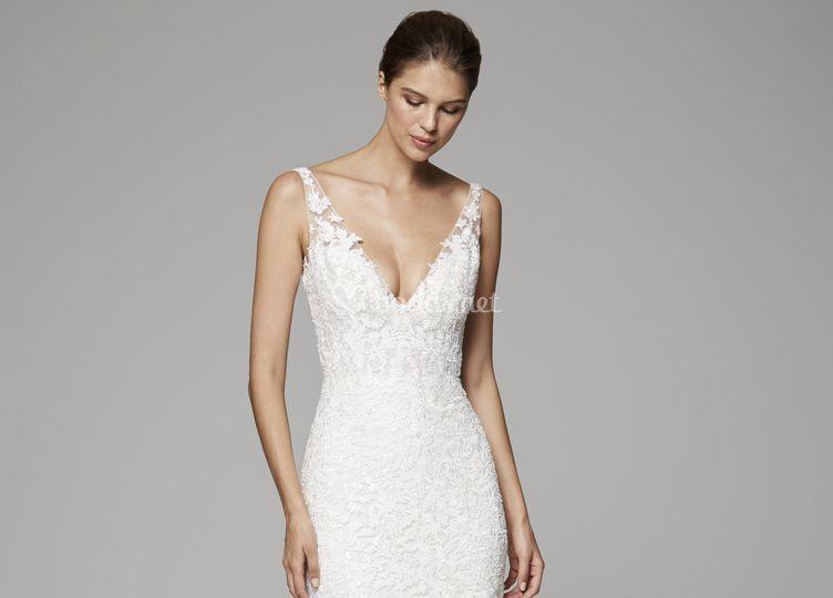 Alquiler de vestidos de novia civil en barranquilla