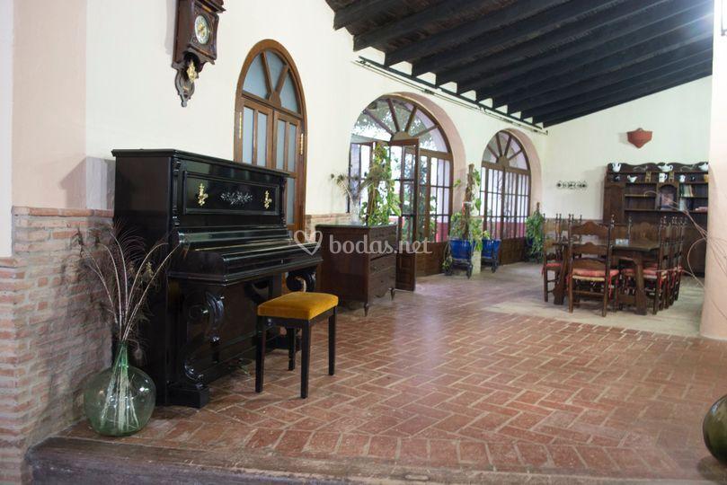 Hacienda santa ana for Battlefield 1 salon de baile