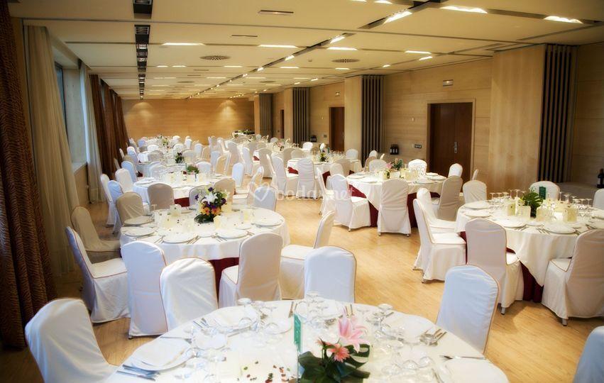 Salón banquete de boda