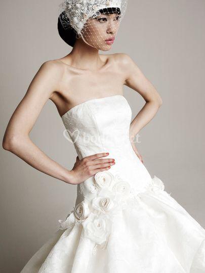 Vestidos novia Yolan Cris 2014