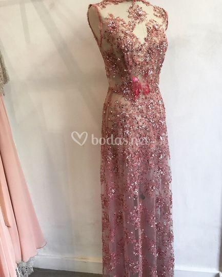 modelo irina - vestido fiesta de eugenia santiago | foto 81