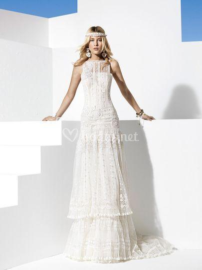 vestidos novia yolan cris 2014 de eugenia santiago | foto 26