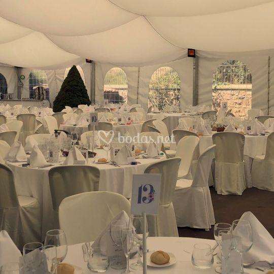 Banquete carpa