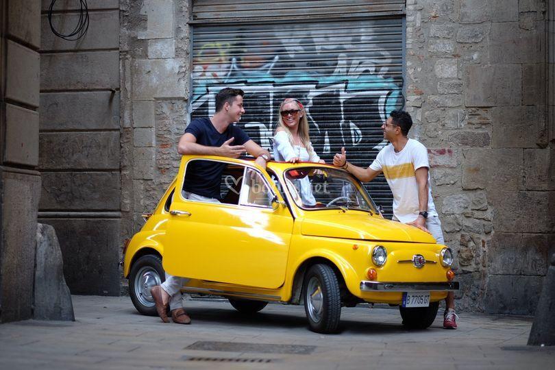 Fashion Photo shoot Fiat500