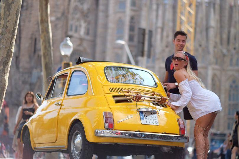 Barcelona Tour Fiat500