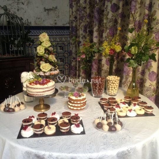 Buffet de tartas