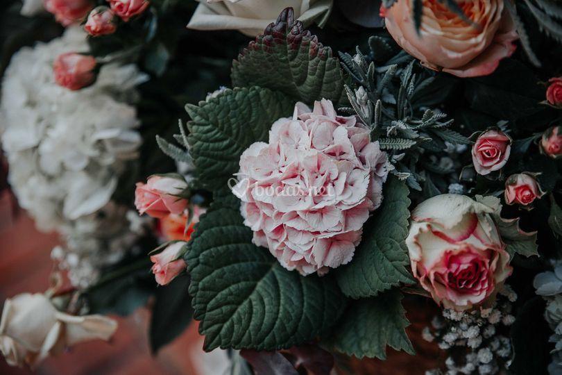 Flores de la ceremonia