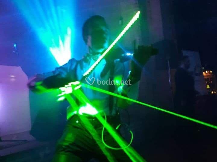 Violín eléctrico evento