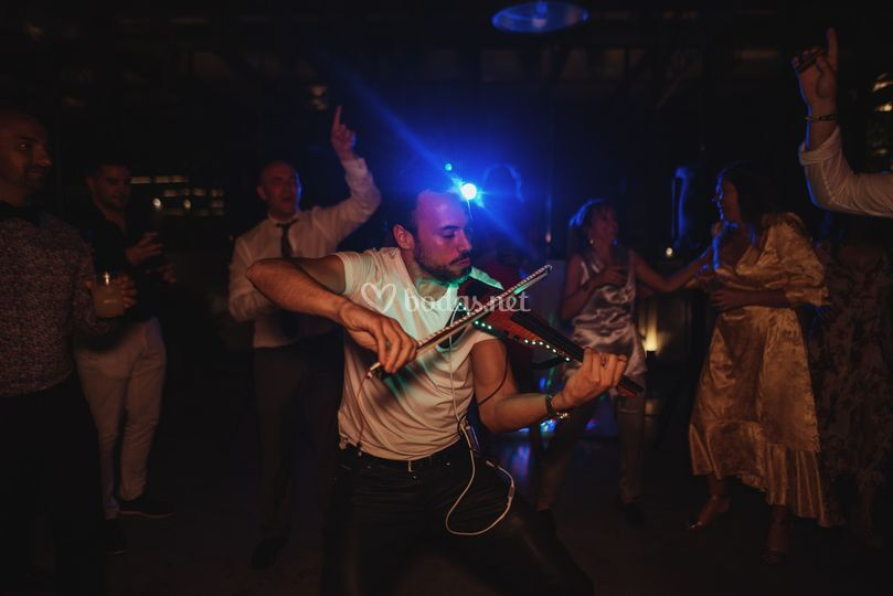 Violín eléctrico boda