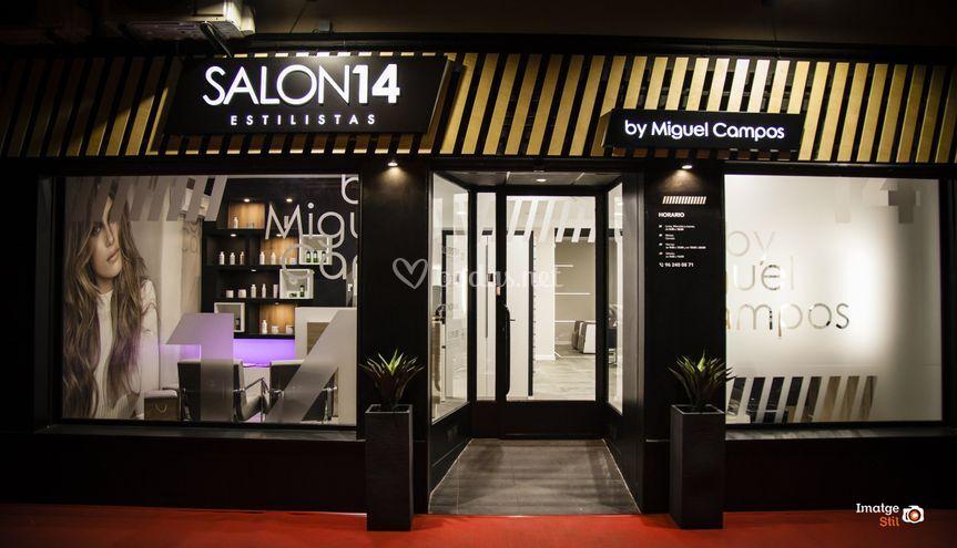 Foto fachada Salon14