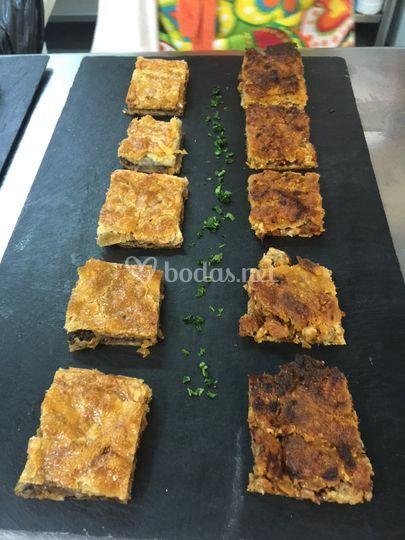 Variado de empanadas gallegas