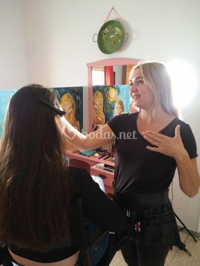 Maquillaje Studio8X8 Tenerife.