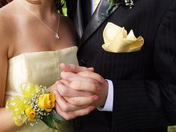 Corsage para novias