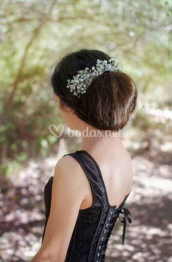Peineta silver bridal