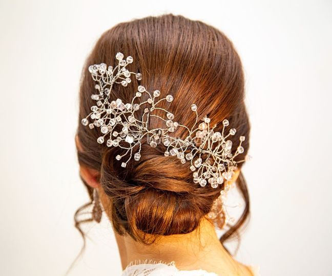 Silver bridal, personalizado