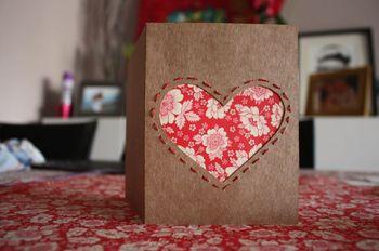 Tarjetas de corazón para invitados especiales