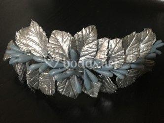 Tocado de plata