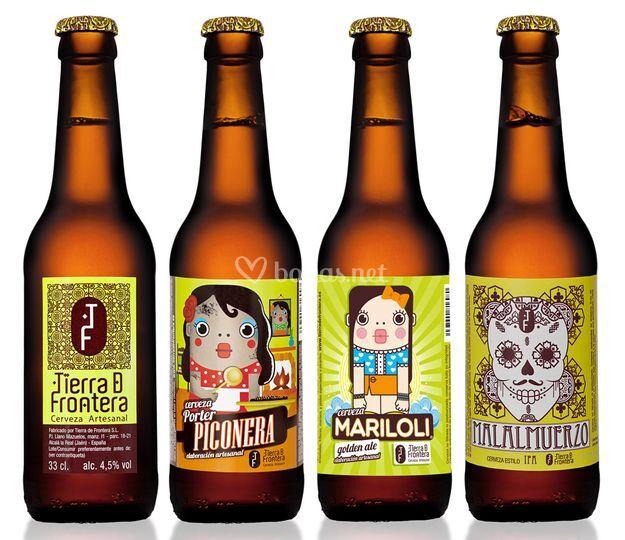 Tierra de Frontera - Cerveza artesana