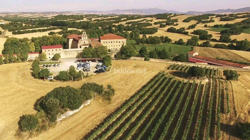 Vista aérea monasterio