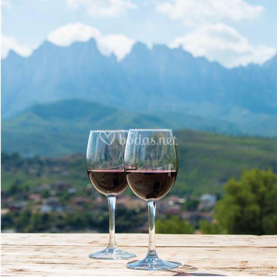 Bueno vino, mejores vistas