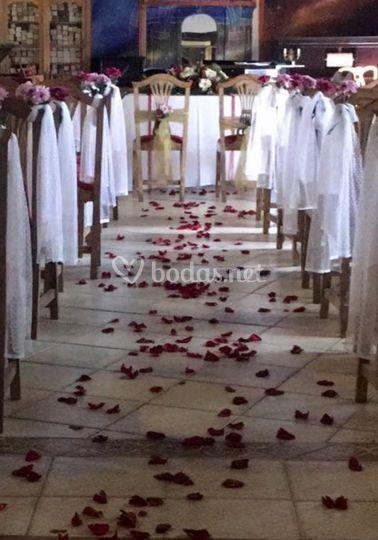 Organización de la ceremonia