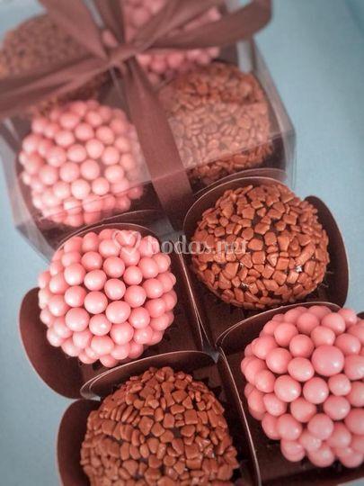 Cajas de bombones gourmet