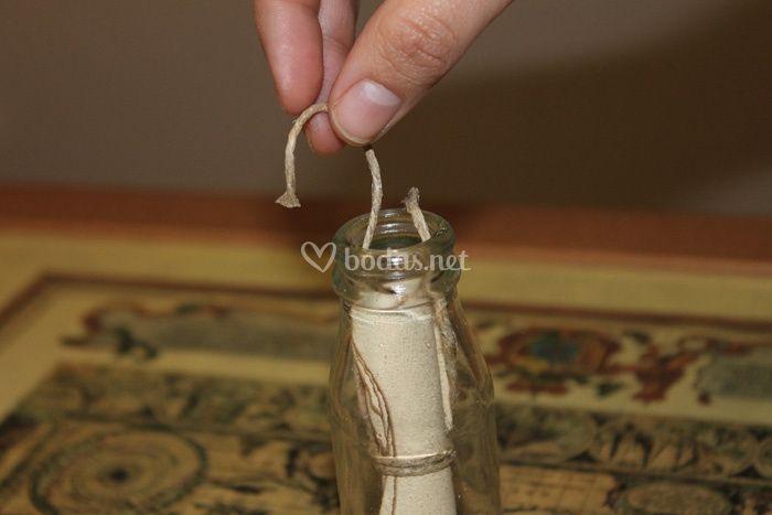 Invitaciones De Boda En Una Botella - Invitaciones-de-boda-en-botella