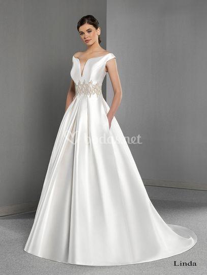 Vestido de novia Linda