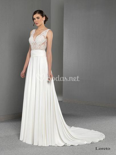 Vestido de novia Loreto