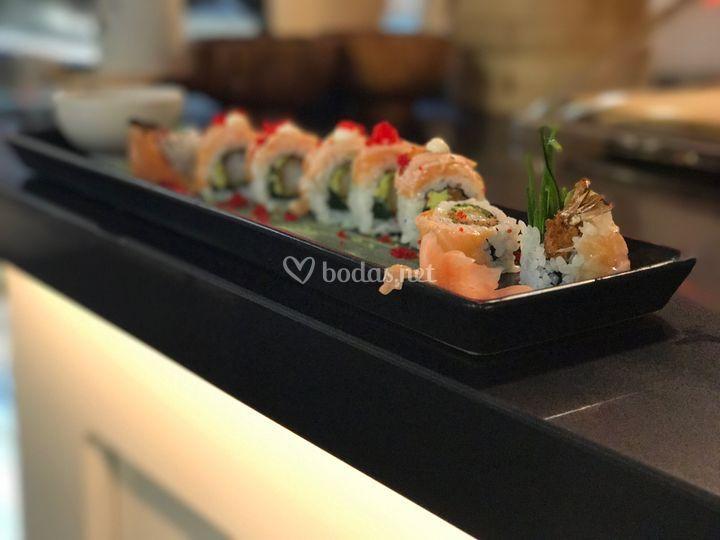 Sushi fusión