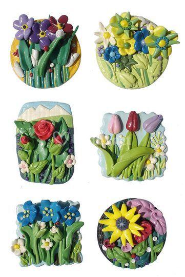 Imanes de Flores