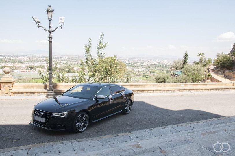 Audi A5 Negro
