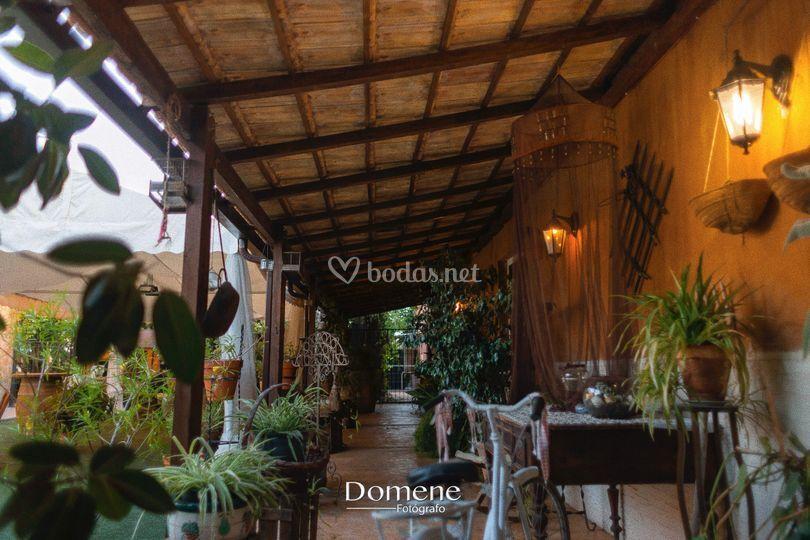 Terraza salón interior
