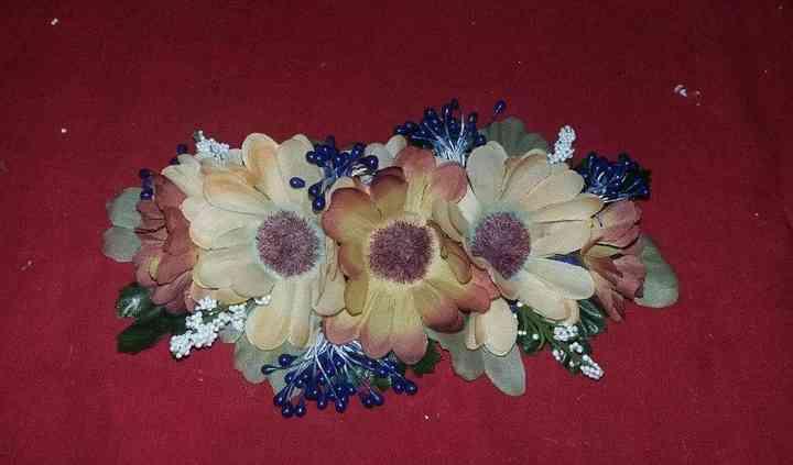 Cinturón de flores con stick