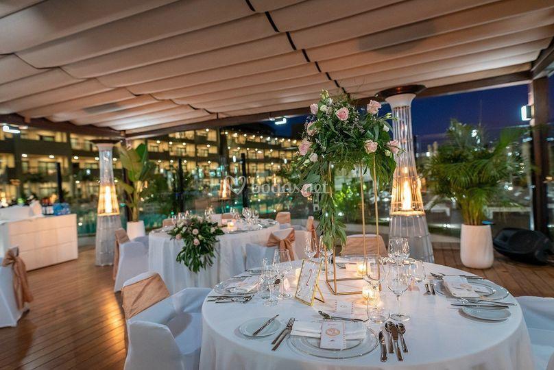 Restaurante Amaina piscina